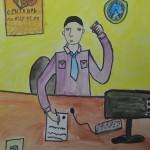 Рисунок Рерих